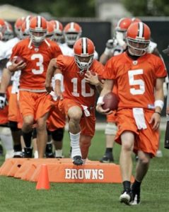 Browns Camp Football