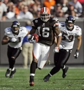 Browns Cribbs Football