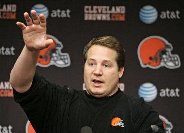 Browns Mangini Football