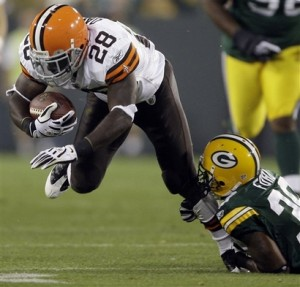 Browns Packers Football