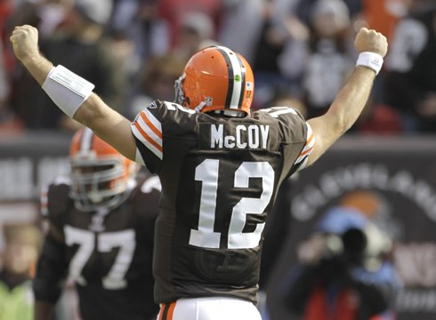 Browns Trade QB McCoy To The Niners For Draft Pick