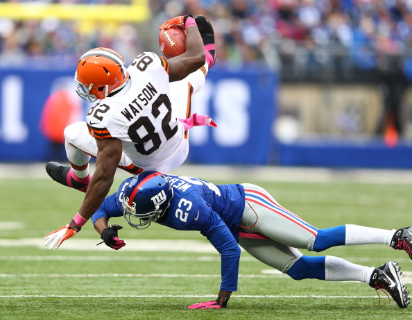 Browns Blasted by Manning and Cruz in 41-27 Blowout Loss to Gia…