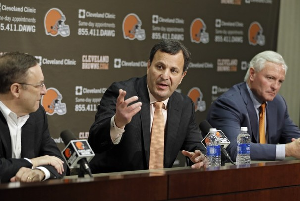 Mike Lomarbdi Named Browns VP Of Player Personnel