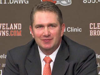 Browns Coach Rob Chudzinski Talks After Rookie Mini Camp