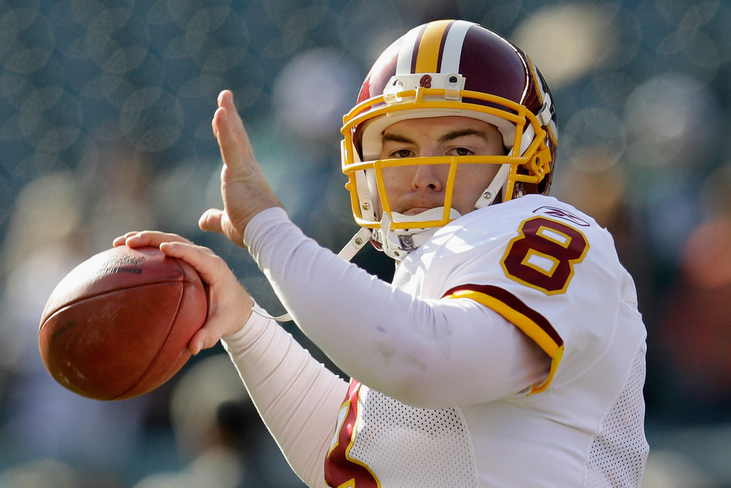 Could QB Rex Grossman Wind Up With Shanahan In Cleveland?
