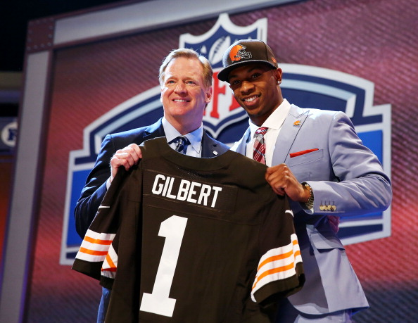Browns Select CB Justin Gilbert With 8th Overall Pick In Draft