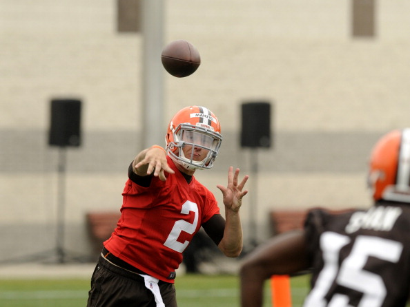 2014 Cleveland Browns OTA Practice