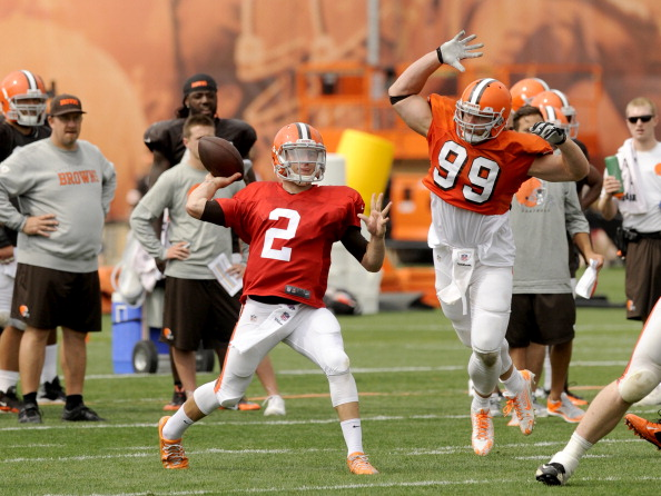 2014 Cleveland Browns Training Camp Practice