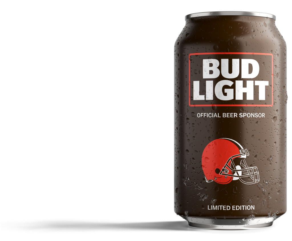 Browns fans bud light has created a can just for you 187 browns gab