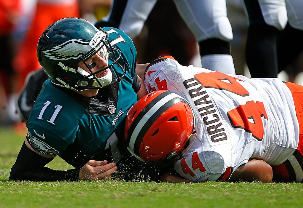 Cleveland Browns v Philadelphia Eagles