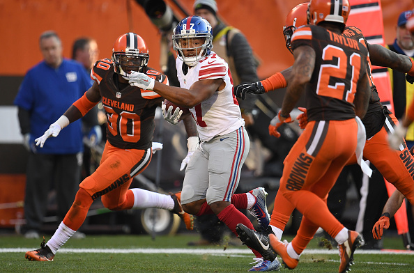 Browns Hang with Giants; Fall 27-13 to Drop to 0-12 in 2016