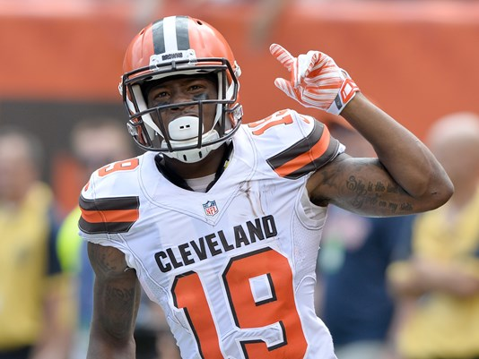 Browns WR Corey Coleman Won't Face Charges For New Year's Eve Attack of 26-Year-Old