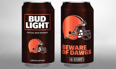 Bud Light - Cleveland Browns 2017 can