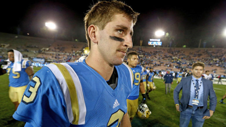 UCLA QB Josh Rosen Doesn't Wanna Play for Browns; Wouldn't Mind Going to Giants
