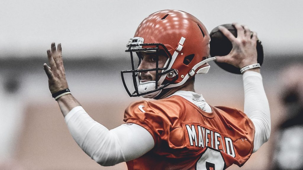 Hue Jackson and Baker Mayfield Not Agreeing on Where the Rookie QB is At Early On